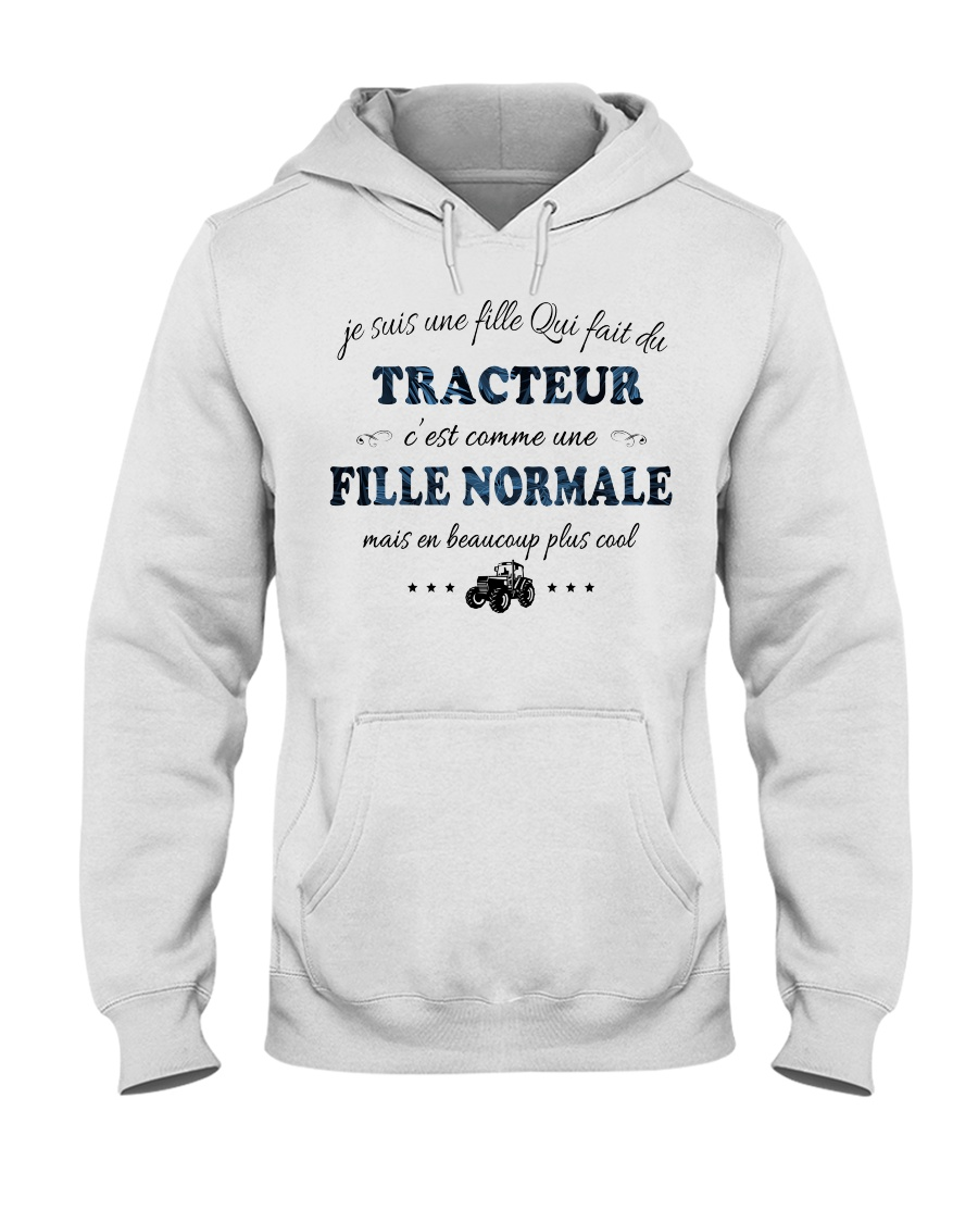 Fille Normale - TRACTEUR Hooded Sweatshirt