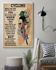 Cycling While On This Ride Called Life 9992 0012 11x17 Poster lifestyle-poster-1