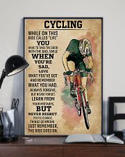 Cycling While On This Ride Called Life 9992 0012 11x17 Poster lifestyle-poster-2