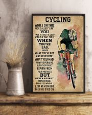 Cycling While On This Ride Called Life 9992 0012 11x17 Poster lifestyle-poster-3