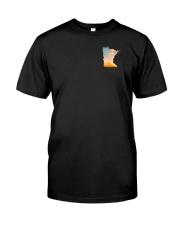 Minnesota USA Flag hoof print PT  Classic T-Shirt thumbnail