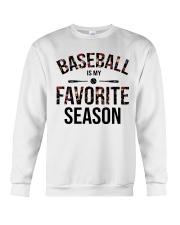 Baseball is my favorite season Crewneck Sweatshirt thumbnail
