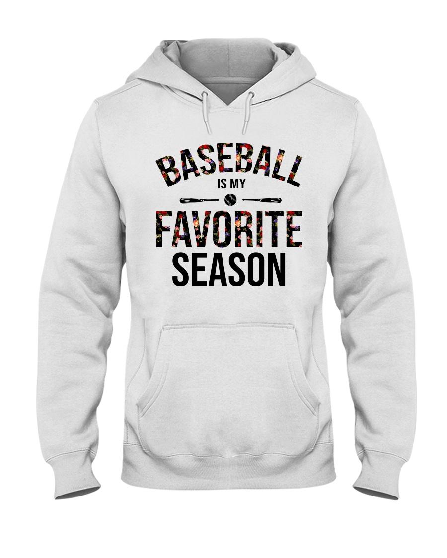 Baseball is my favorite season Hooded Sweatshirt
