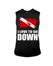 SCUBA DIVING GO DOWN Sleeveless Tee thumbnail