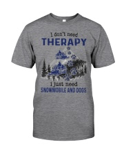 I Don't Need Therapy - Snowmobile Classic T-Shirt thumbnail