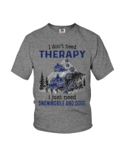 I Don't Need Therapy - Snowmobile Youth T-Shirt tile