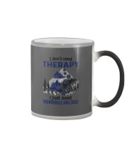 I Don't Need Therapy - Snowmobile Color Changing Mug thumbnail