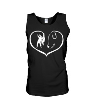 easily distracted by judo and dog  Unisex Tank thumbnail