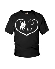 easily distracted by judo and dog  Youth T-Shirt thumbnail