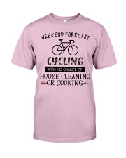 cycling-weekend forecast-cooking Classic T-Shirt thumbnail