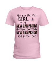 New Hampshire girl - you can Ladies T-Shirt thumbnail