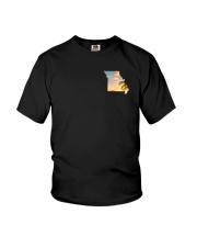 Missouri USA Flag Youth T-Shirt thumbnail