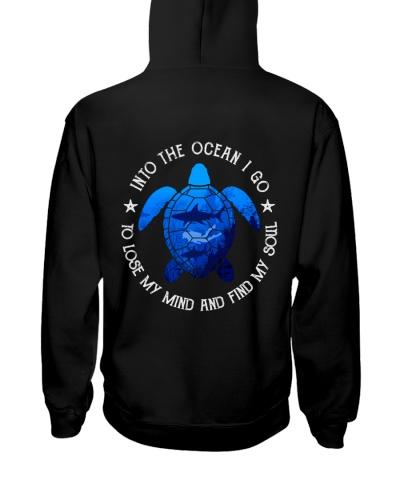 scuba diving ocean 2 side printed