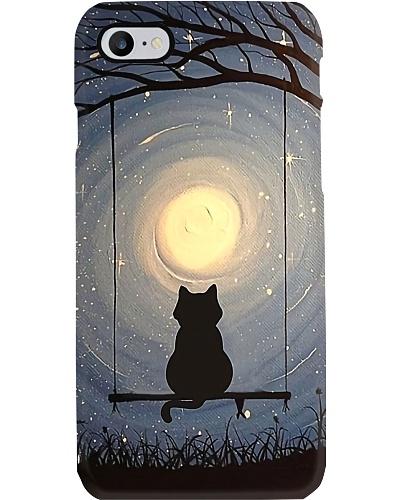 Cat Star Night