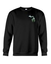 Michigan USA Flag pine trees beer PT Crewneck Sweatshirt thumbnail