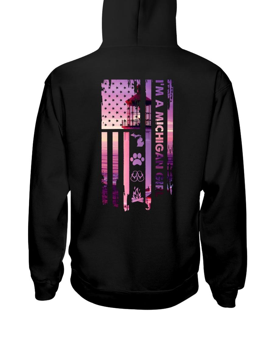 Michigan USA LIGHT HOUSE cfire 4 PT  Hooded Sweatshirt
