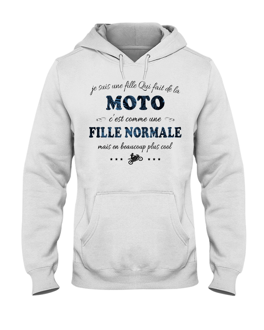 Fille Normale - Moto Hooded Sweatshirt