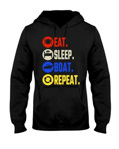 eat sleep boat repeat