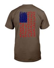 Scuba Diving Us Flag Classic T-Shirt tile