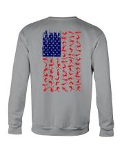 Scuba Diving Us Flag Crewneck Sweatshirt thumbnail