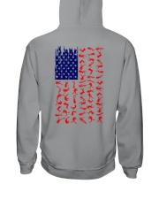 Scuba Diving Us Flag Hooded Sweatshirt thumbnail
