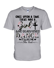 Once Upon A Time - Ballet V-Neck T-Shirt thumbnail
