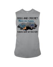 Dogs And Crochet - Make Me happy Sleeveless Tee thumbnail