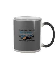 Dogs And Crochet - Make Me happy Color Changing Mug thumbnail