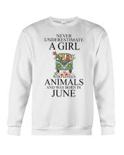 hippie girl-june Crewneck Sweatshirt thumbnail
