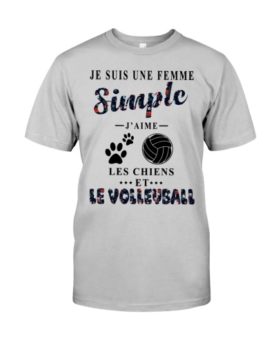 Volleyball chiens femme simple 0005