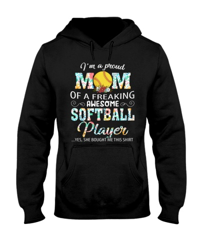 proud mom of a freaking awesome softball player