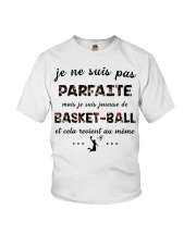 Basketball - Je ne Suis Pas Parfaite Youth T-Shirt thumbnail