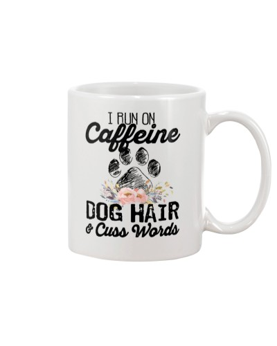 I run on caffeine dog hair