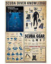 Scuba Diver Knowledge 0012 11x17 Poster front