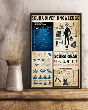 Scuba Diver Knowledge 0012 11x17 Poster lifestyle-poster-3