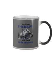 I Don't Need Therapy - Skiing Color Changing Mug thumbnail