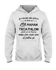 Maman Triathlon Hooded Sweatshirt front