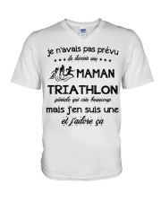 Maman Triathlon V-Neck T-Shirt thumbnail