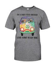 Dog - On a dark desert Classic T-Shirt front