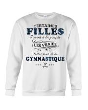 Filles Font De La Gymnastique Crewneck Sweatshirt thumbnail