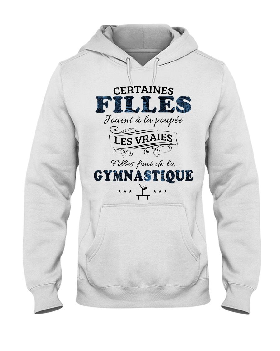 Filles Font De La Gymnastique Hooded Sweatshirt