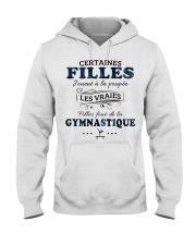 Filles Font De La Gymnastique Hooded Sweatshirt front