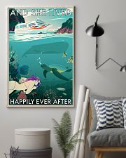 And she lived happily ever after Poster 0012 11x17 Poster lifestyle-poster-1