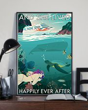 And she lived happily ever after Poster 0012 11x17 Poster lifestyle-poster-2