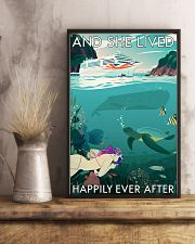 And she lived happily ever after Poster 0012 11x17 Poster lifestyle-poster-3