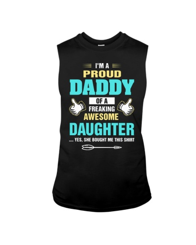 I'm a proud daddy