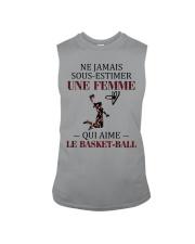 basketball- sous estimer une femme Sleeveless Tee thumbnail