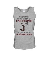 basketball- sous estimer une femme Unisex Tank thumbnail