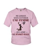 basketball- sous estimer une femme Youth T-Shirt thumbnail