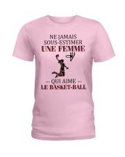 basketball- sous estimer une femme Ladies T-Shirt thumbnail